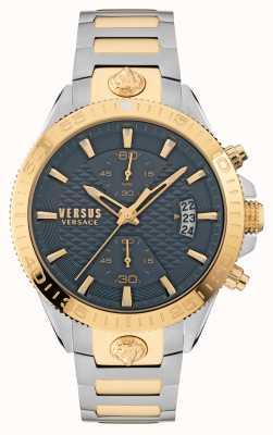 Versus Versace Bracelet en acier inoxydable bicolore Versus griffith VSPZZ0421