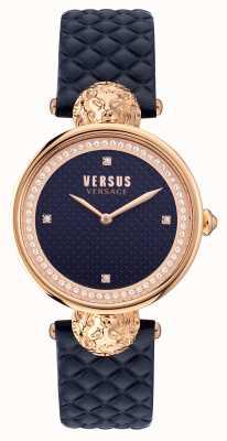 Versus Versace Bracelet bleu matelassé Versus south bay VSPZU0321