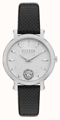 Versus Versace Montre Versus weho avec bracelet en cuir noir VSPZX0121