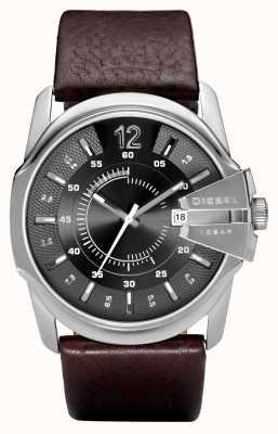 Diesel Gents bracelet en cuir brun DZ1206