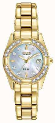 Citizen Mesdames régent 28 diamants EW1822-52D