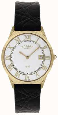 Rotary Bracelet homme en cuir collection ultra slim GS08003/01