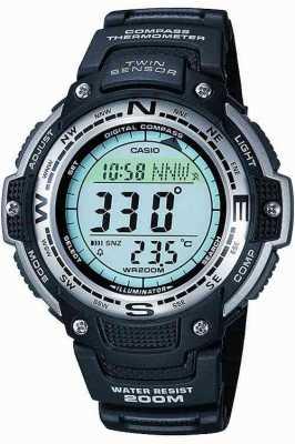 Casio chronographe d'alarme Hommes SGW-100-1VEF